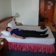 There is nothing like a good bed to sleep in after a hard days traveling. We were so happy when we go to the V.L. Hatyai Hotel in Hat Yai. It was a measly three blocks from the Hat Yai train station, up a road that had perfect side walks...
