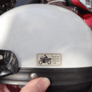 Motorcycle helmet not for use Langkawi feature
