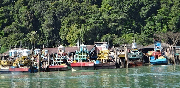 On the ferry from Pulau Pangkor to Lumut Feature