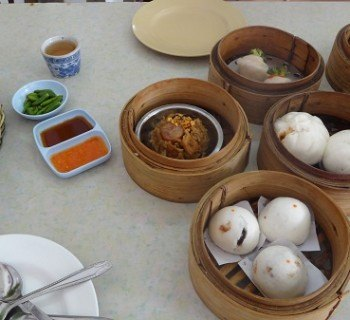 Delicious Dim Sum in Chumphon, Thailand
