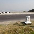 Thailand mile marker