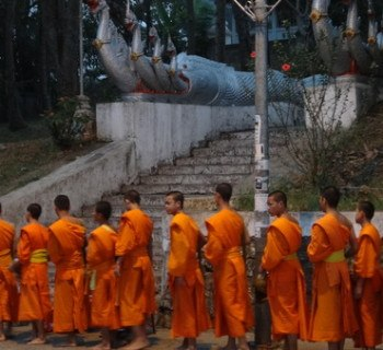 luang prabang alms monks 2