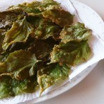Vang Vieng - Deep Fried Mulberry Leaves