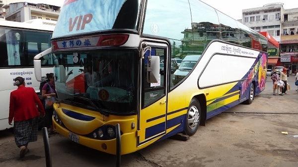 Phnom Penh to Sihanoukville - The VIP Bus To Sihanoukville