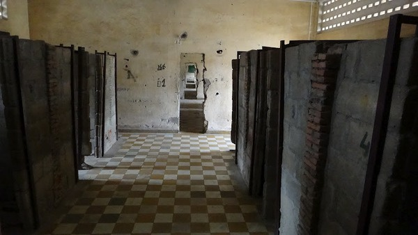 classrooms converted to cell blocks in S21