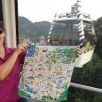 Hi! I love my multi-functional devices, and here is one that I LOVE even more than the usual! We went into a souvenir shop in Taipei in our second week in Taiwan and I saw this awesome handkerchief decorated with the Taipei Metro system route map. It includes pictures of...