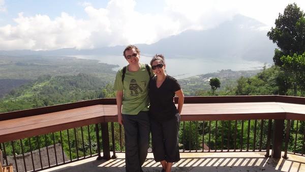 Bali Volcano Lake