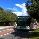 Perth Number 37 Bus From The Perth International Airport