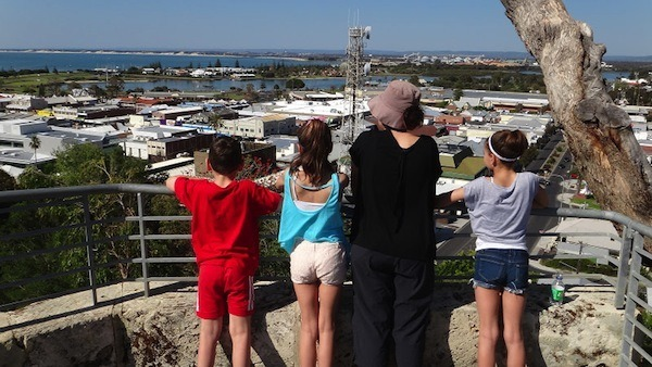 Family Travel - Bunbury Lookout